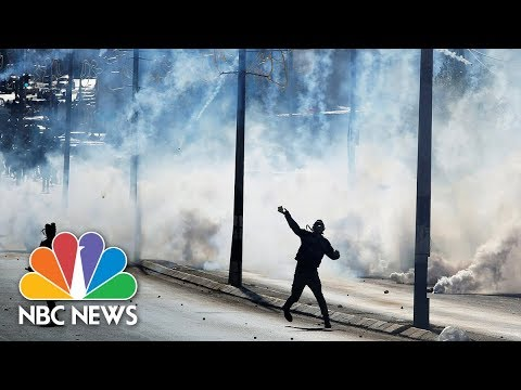 Fresh Protests Erupt In West Bank Cities And Jerusalem's Old City | NBC News