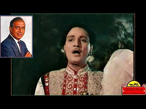 TALAT MEHMOOD & LATA JI~Film SUNEHRI...