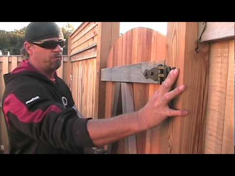 Gate In A Box Demo Video How To Install Fence Gate Hinges