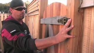 Gate-in-a-box Demo Video How To Install Fence Gate Hinges