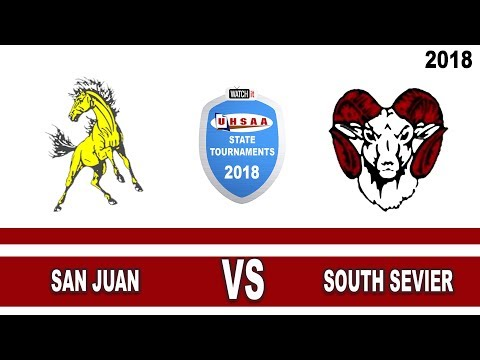 3A Softball: San Juan vs South Sevier High School UHSAA 2018 State Tournament Single Loss Round 2