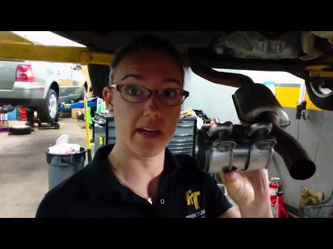 Audi and Volkswagen Exhaust Sleeve Clamp Failure and Replacement