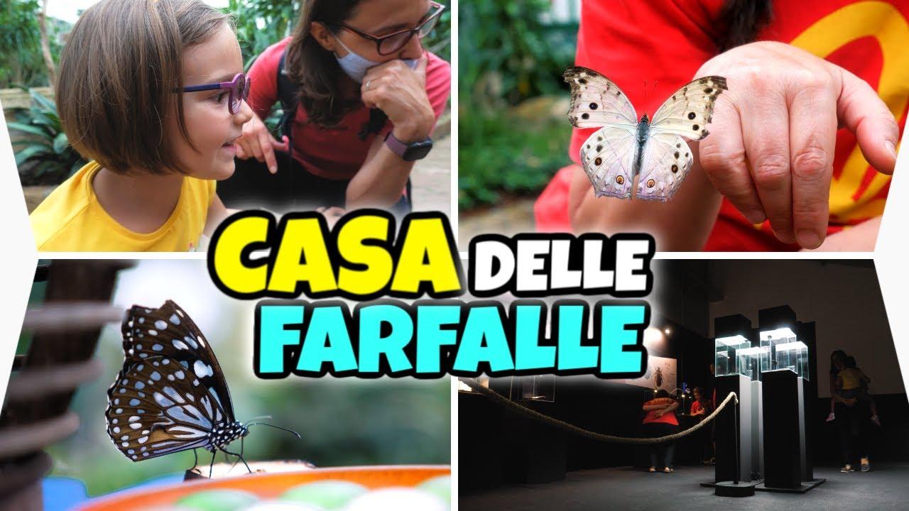 ANDIAMO ALLA CASA DELLE FARFALLE 🦋 Vlog Famiglia GBR