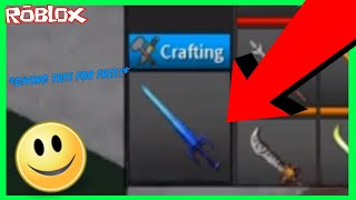 GIVING AN EPIC BLUE FOR FREE!?! (ROBLOX ASSASSIN EXOTIC GIVEAWAY)