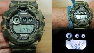 Casio G-shock GD-120CM-5 *CAMOUFLAGE EDITION
