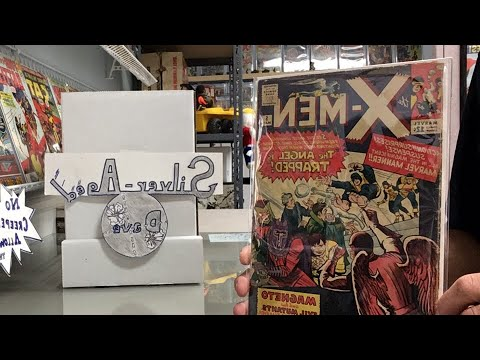 Crack House Comic Book Haul X-Men Unboxing & Link to Original CrackHouse Story Video