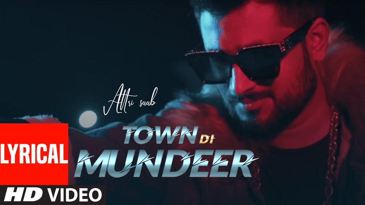 Town Di Mundeer (Full lyrical Song) Attri Saab | Musical Farmer | Malkeet | New Punjabi Song