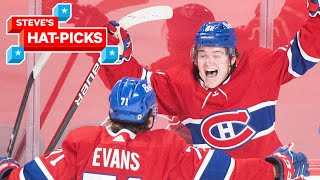 NHL Plays Of The Week: Feel Good Stories, Milestones & Pure Desperation | Steve's Hat-Picks