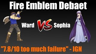 Two nerds in 2007 debate professionally about who is better in FE6:...