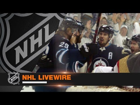 NHL LiveWire: Jets, Golden Knights lock horns in WCF Game 1