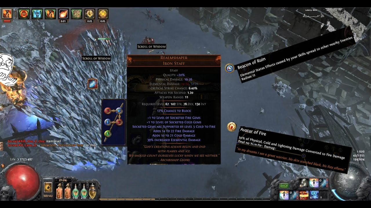 Poe   Frost Wall Build