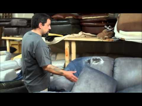 Platinum Care / All County Leather  |  Ewing Aniline Sofa and Chair Color Restoration