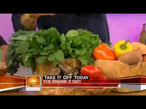 """""""Engine 2 Diet"""" author Rip Esselstyn on The Today Show"""