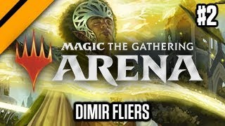 MTG: Arena - GRN Drafts - Dimir Fliers P2 (sponsored)