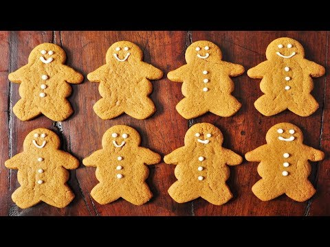 Gingerbread Men Recipe - Joyofbaking.com *Video Recipe*