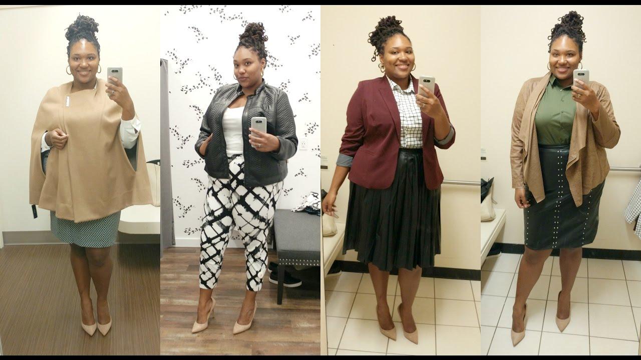 Plus Size Dressing Room Plus Size Workwear Youtube
