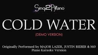 vuclip Cold Water (Piano karaoke demo) Major Lazer, Justin Bieber, MØ