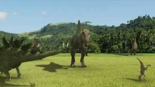 Harlem Shake - Dinosaurs Version (Plus TWERKING Stegosaurus! lol XD)