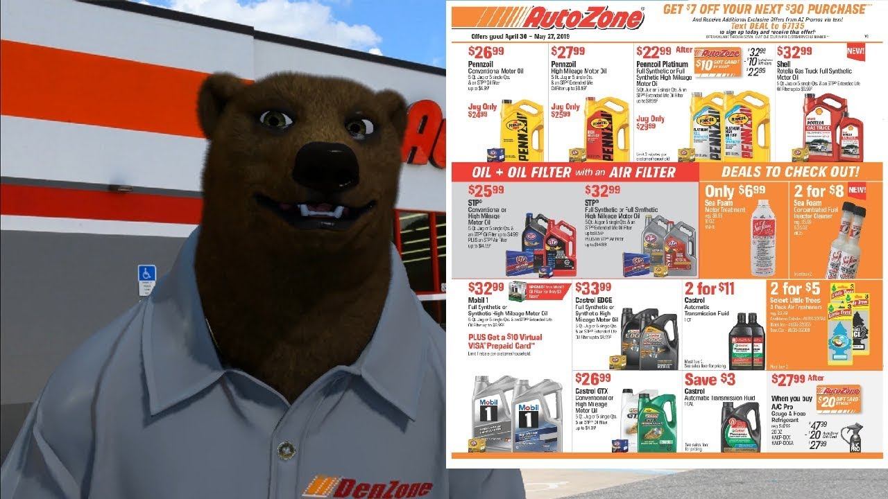 Autozone's May Sales Flyer and Other Deals!