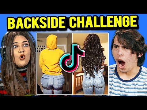 Generations React To Backside Challenge TikTok Compilation
