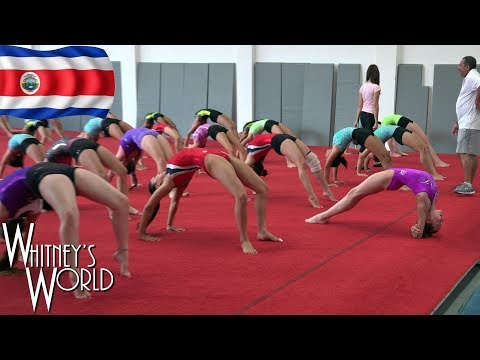 Gymnastics Camp in Costa Rica with Whitney Bjerken