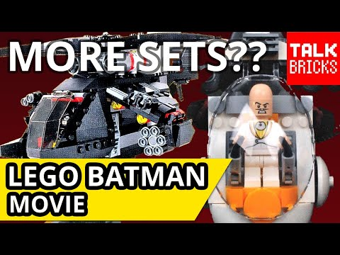 LEGO Batman Movie Future Set Breakdown! More Sets Coming?? Harley