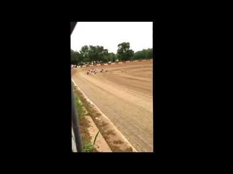 Expert singles heat race Peoria speedway 5/27/16