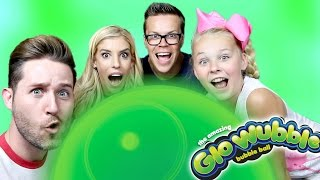 GLO WUBBLE BUBBLE BALL // GLOW IN THE DARK (w/Jojo Siwa, Rebecca Zamolo, & Matt Slays)