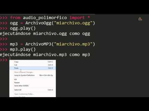13.- Curso de Python 3.X Polimorfismo y Duck Typing.