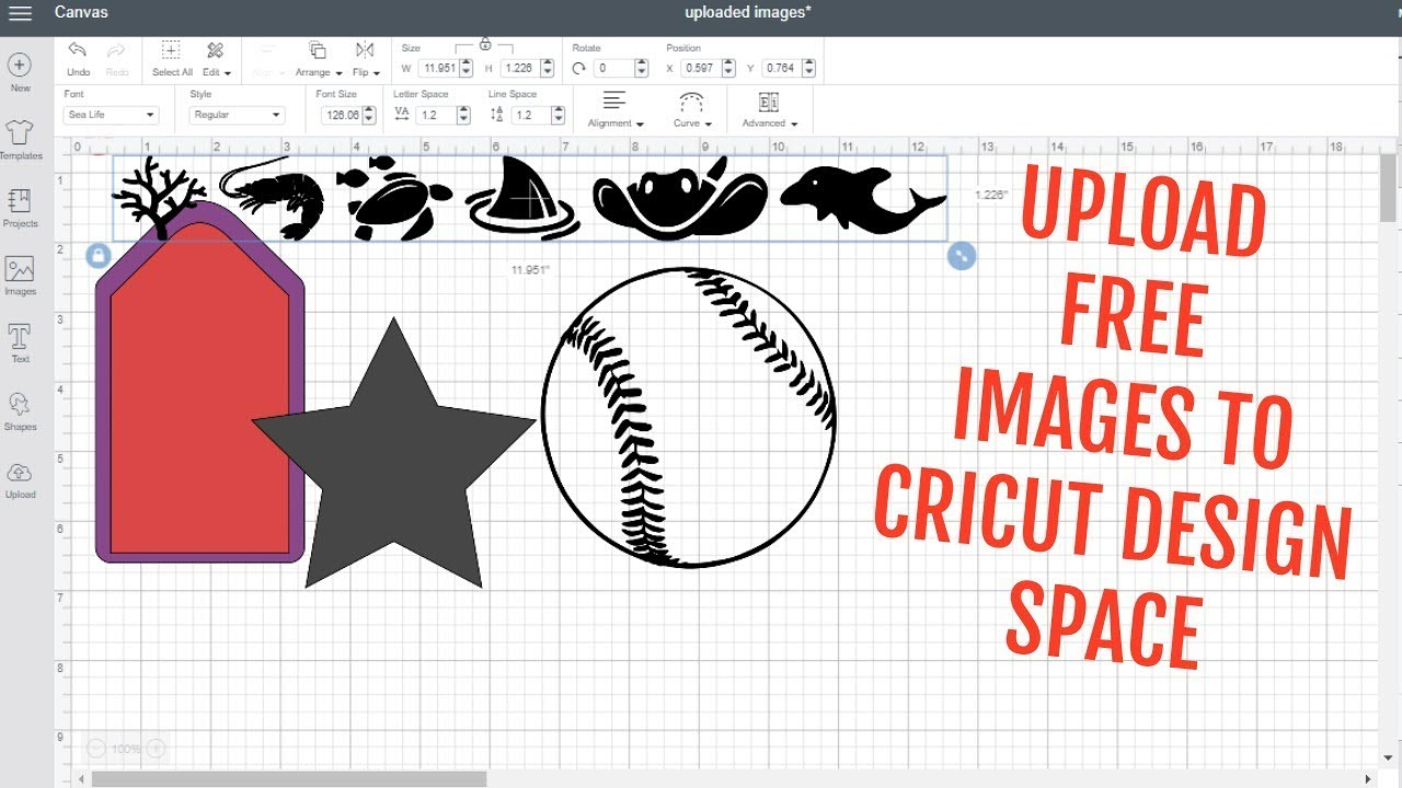 UPLOAD IMAGES TO CRICUT DESIGN SPACE FOR FREE