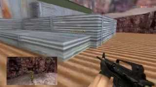 Counter Strike 1.6 Spam Spots [de_nuke]