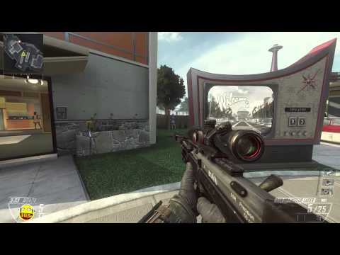 Call of Duty Black Ops 2 1vs1 au sniper !