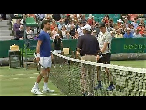 Novak Djokovic vs Denis Shapovalov • Highlights