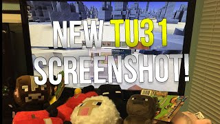 Minecraft Xbox & Playstation: NEW TU31 SCREENSHOT! | New Enchanting, Ice Spike Biome & More!