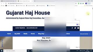 How to use District Trainer(ft) Portal | Haj House Website | Gujarat State Haj Committee