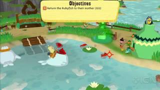 Okabu: Plunger Fishing Gameplay