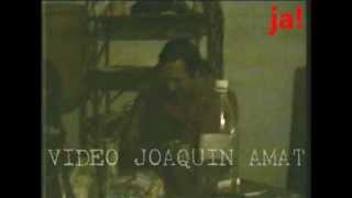 1990  RICARDO IORIO guitarreando ACIDO ARGENTINO HERMETICA VIDEO JOAQUIN AMAT