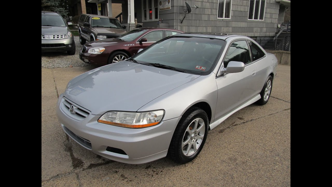 3k In Miles >> 2002 Honda Accord EX Coupe Elite Auto Outlet Bridgeport ...