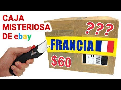 Abriendo Caja Misteriosa de FRANCIA de $60 de Ebay 📦❓ | Caja Sorpresa