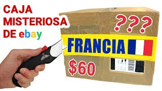 Abriendo Caja Misteriosa de FRANCIA de $60 de Ebay 📦❓   Caja Sorpresa