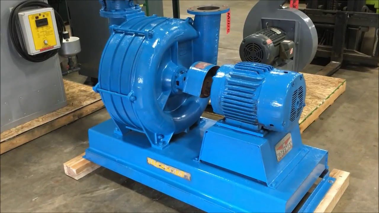 Air Blower Work : Hoffman hp model a cast iron air agitation blower