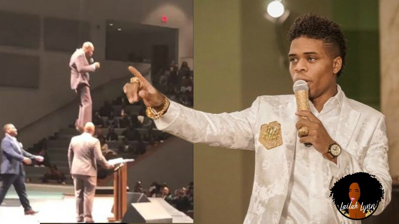 'Flying Preacher' FLIES Into The Pulpit While Joshua Holmes Claims To Be The Savior In the Flesh!