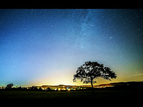 The Perseid meteor shower in 60 seconds