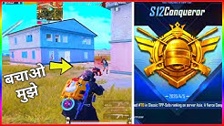 DmaxYT - PUSH CONQUEROR FROM ACE PUBG MOBILE SEASON 12 RANK PUSHING GAMEPLAY IN HINDI | PUBG MOBILE