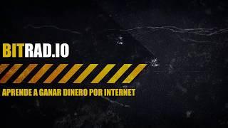 BITRAD.IO | Gana Dinero Escuchando Radio Gratis BitRadio(BRO) | TUTORIAL COMPLETO PRUEBA DE PAGO
