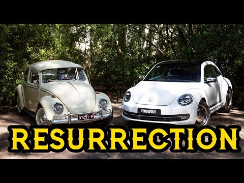 Resurrection!Volkswagen Beetle Old v New 1965 v 2017