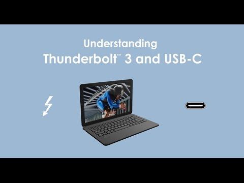 The Difference between Thunderbolt 3 and USB-C