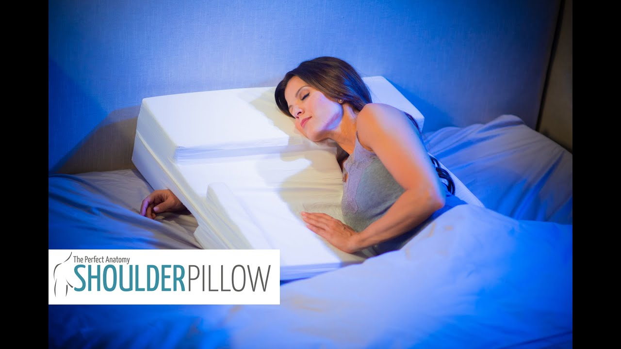 The Shoulder Pillow | Shoulder Pain at Night - YouTube