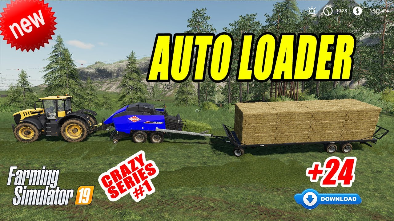 Farming Simulator 19 | AUTO LOADER TRAILER!