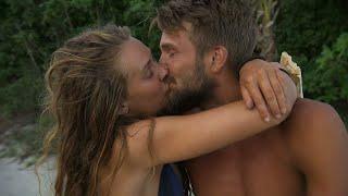 Pascal Mazza Ramsby och Nicoline Artursson får en romantisk dejt på stranden  – Robinson (TV4)